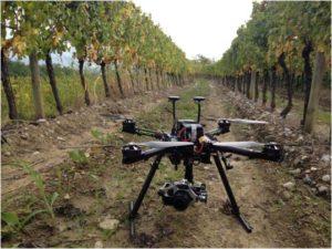 drone-vigneto